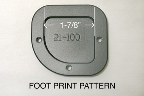 Sidestand Foot plate Enlarger BMW F650GS Twin  & F700GS