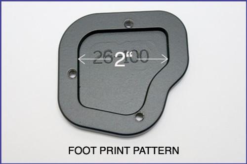 Sidestand Enlargement Plate BMW K1600GT/GTL up to 2016