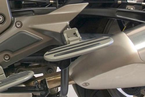 Passenger Sportboards Floorboards for BMW K1600GT/GTL/GTLE up to 2016 in Grey