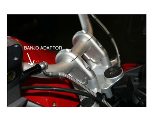 Handlebar Riser Bar Backs With Brake adapter R1200GSLC 2013+ R1200GSLCADV 2014+