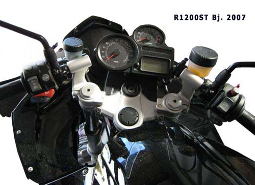 Handlebar Riser Kit - Longer brake line included for BMW R1200ST
