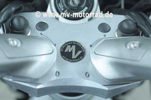 Adjustable Handlebar riser adapter plate **NEW Carbon Look FINISH** for Yamaha FJR1300 06 - up (NON-ES)