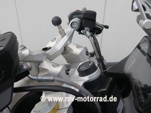 Handlebar Risers / Barbacks move bars 60mm back and 30mm up for BMW R1200RS