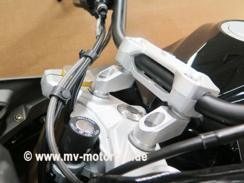 Handlebar Risers kit 40mm up and 40mm back for BMW G310R G310GS