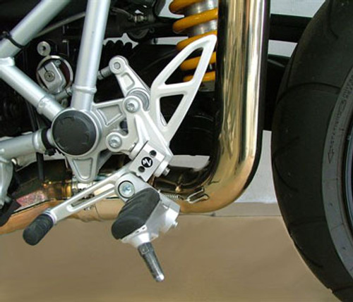 Adjustable Driver Footpeg Kit 40mm Move for BMW R1200S