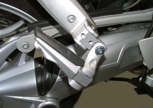 Passenger Footpeg lowering Kit Adjustable 60mm Move for BMW K1200S K1200R