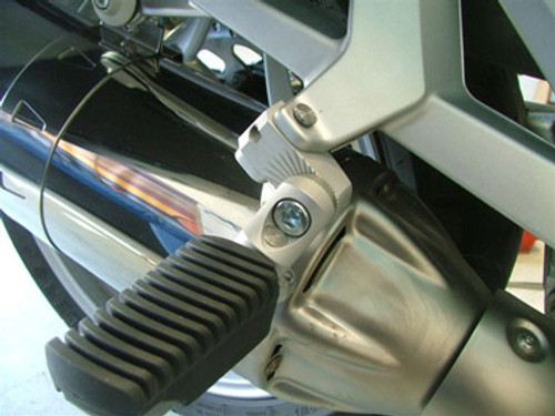 Passenger Footpeg lowering Kit Adjustable 60mm Move for BMW R1200RT & BMW R1200RTW