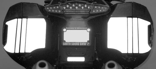 Side Bag Reflective Tape Kit for BMW K1600GT/GTL R1200RTLC (2014+)