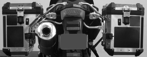 Saddlebag Black Reflective Tape Kit for BMW F800GS Alum Adventure