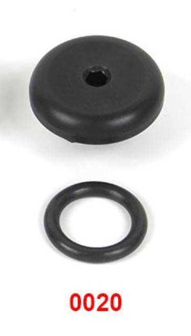 Basic Oil Fill Plug BLACK for BMW R1100 - R1150