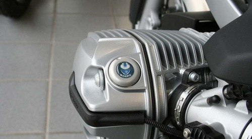 Security Oil Filler Cap SILVER for BMW R1200 (Not R12C)