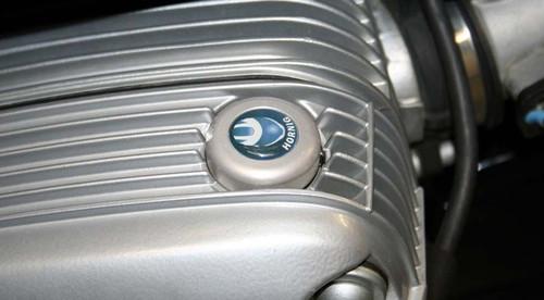 Security Oil Fill Plug Silver for BMW R1100-R1150