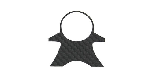Carbon Look Top Yoke Pad for BMW R1200RTW 2014+