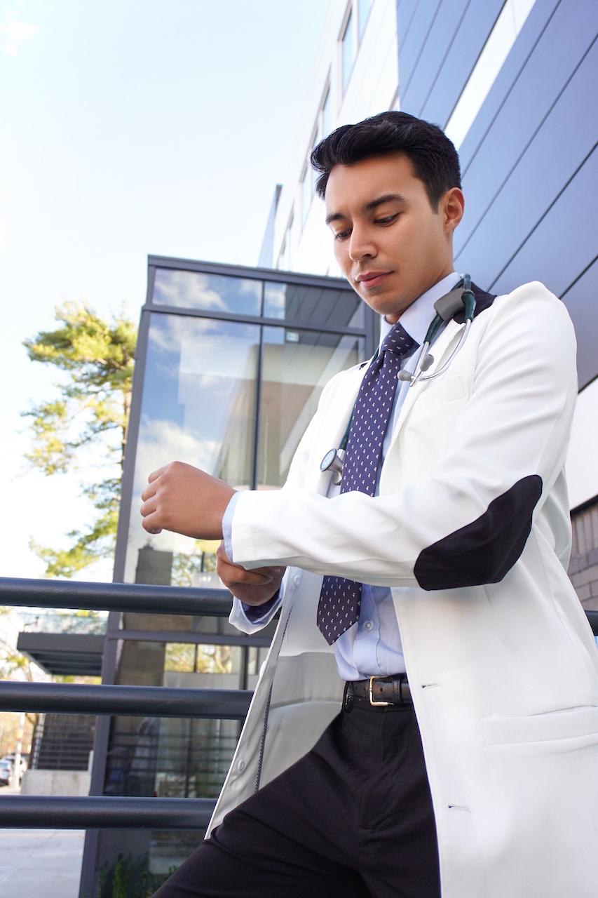 Mclaren Slim Fit Men's Lab Coat