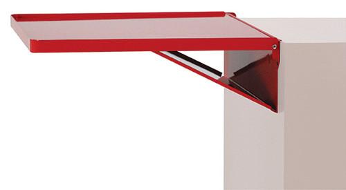 Kennedy Fold-Away Cabinet Shelf, Industrial Red - DS1R