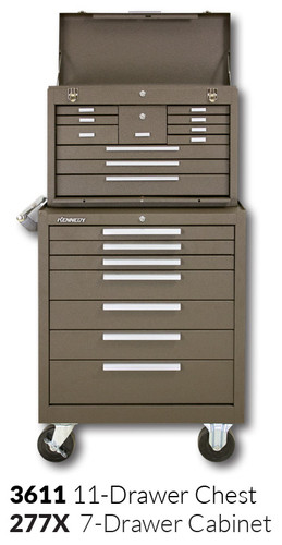 """Kennedy 277X 27"""" 7-Drawer Roller Cabinet Combinations"""