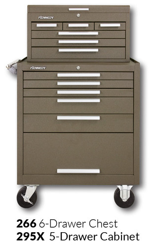"""Kennedy 295X 29"""" 5-Drawer Roller Cabinet Combinations"""