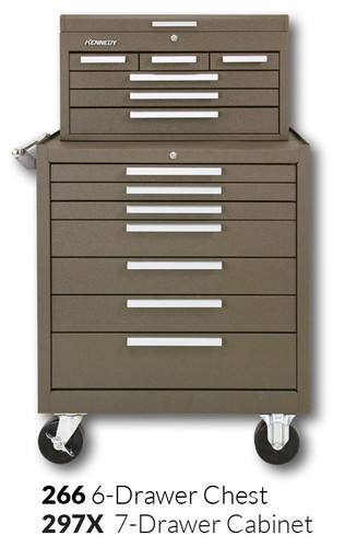 """Kennedy 297X 29"""" 7-Drawer Roller Cabinet Combinations"""
