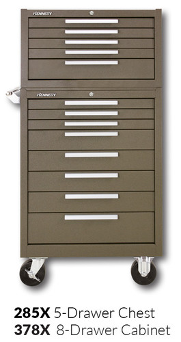 """Kennedy 378X 27"""" 8-Drawer Roller Cabinet Combinations"""