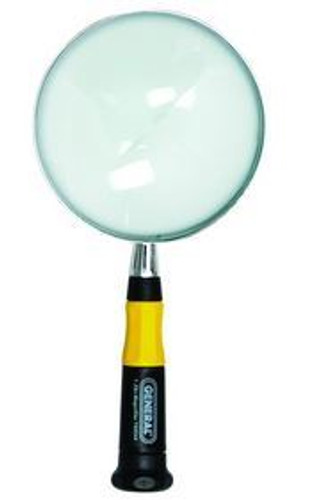 General 4 In. Round Glass Magnifier - 750544-1