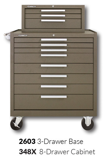 """Kennedy 348X 34"""" 8-Drawer Roller Cabinet Combinations"""
