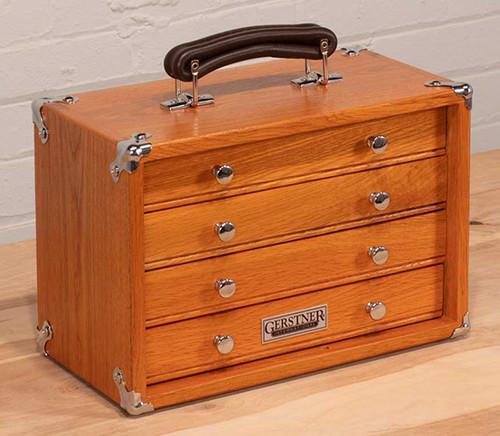 Gerstner International 4-Drawer Oak Chest - GI-T12