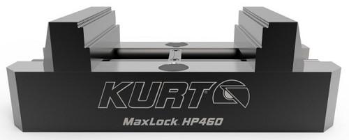 "Kurt MaxLock 5-Axis Self-Centering Vise with Machinable Jaws, 9"" Length - HP460C"