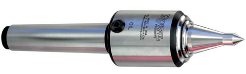 Royal High-Speed Steel Point Quad-Bearing Live Centers