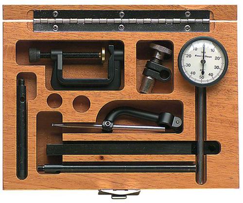 """Tesa/Brown & Sharpe 0-0.200"""" Range Dial Test Indicator - 599-7040 - 57-016-889"""
