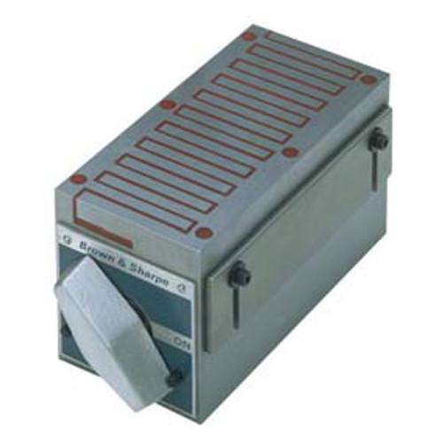 TESA Brown & Sharpe Fine Pole Rectangular Permanent Magnetic Block Chuck #745-255 - 20-746-4