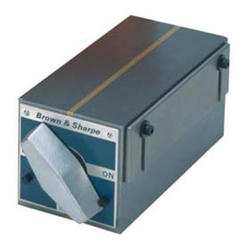 TESA Brown & Sharpe Standard Pole Rectangular Permanent Magnetic Block Chuck #599-760 - 20-747-2