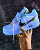 Sky Volt Off White Air Force Ones ( GS AND MEN SIZES ) NO SIZE 14 OR 15 (SOLD OUT)