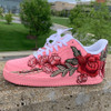 Rose Petal Airforces ( GS And Men Sizes )
