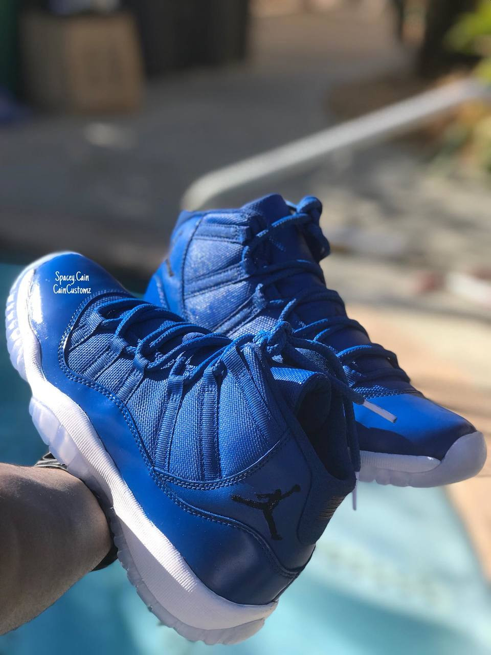 new styles 23941 8f2ff Royal Blue 11s -Men-