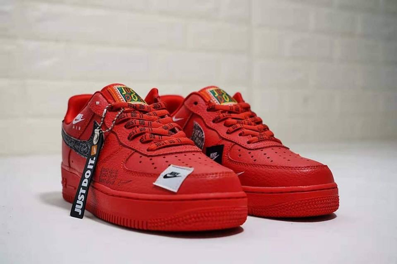 Red Just Do It Forces - Cain CustomZ