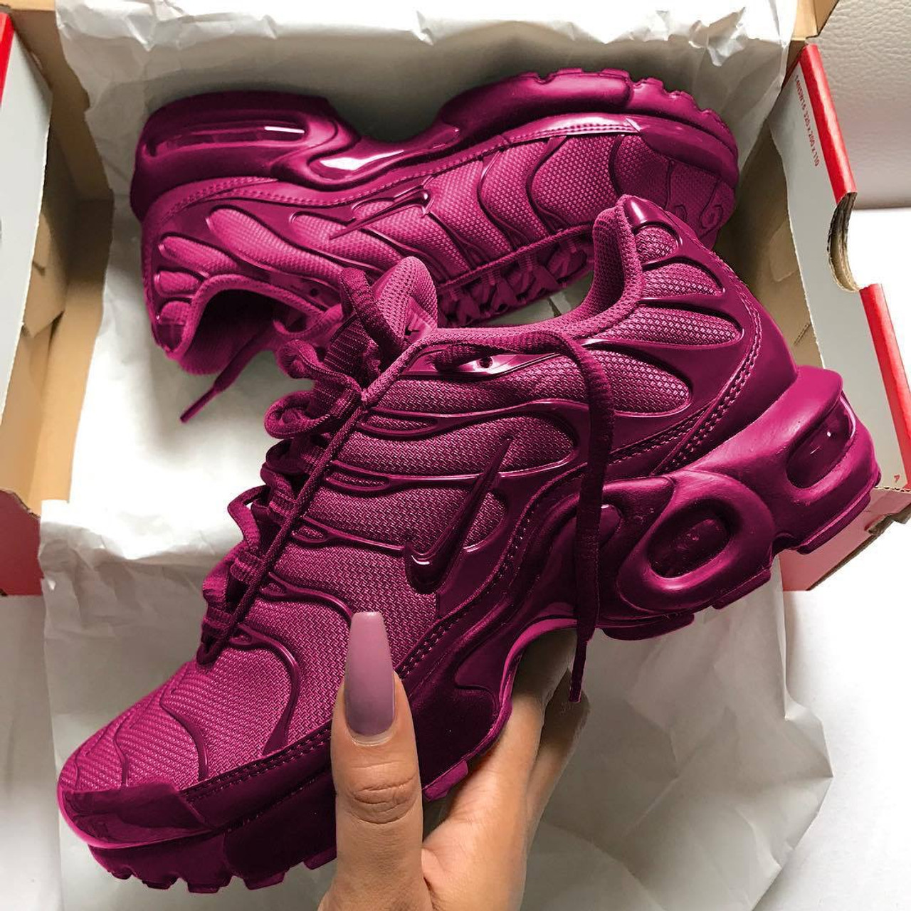 huge discount fb676 88b65 Maroon Air Max Plus