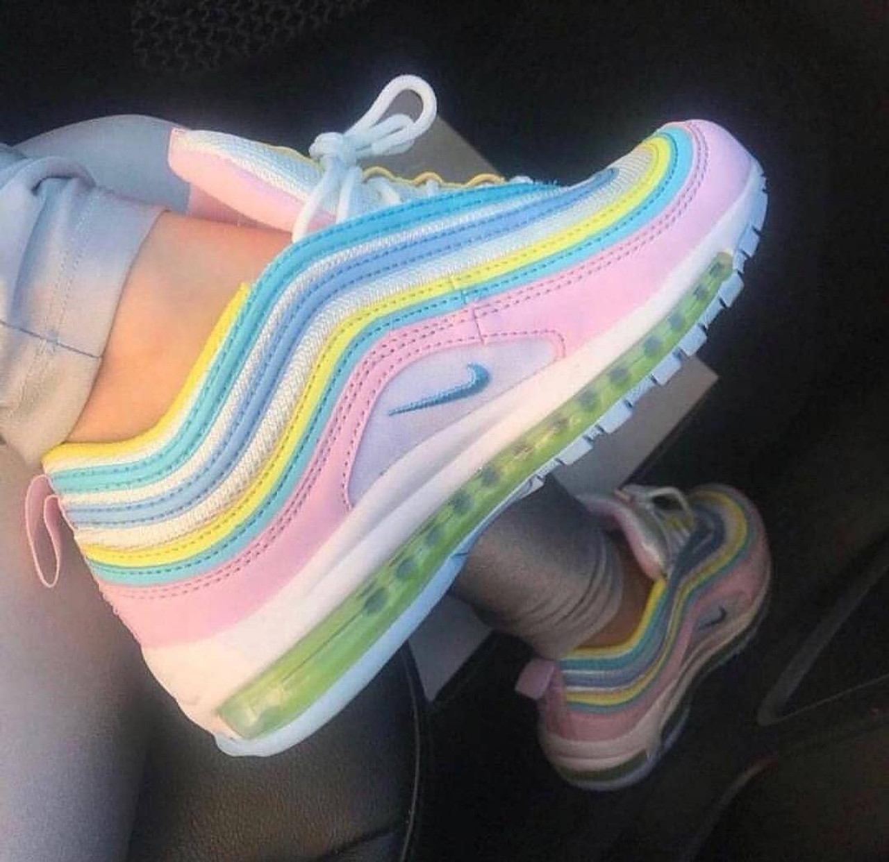 new concept 3f00b 8ff53 Easter AirMax 97 ( Sizes 5.5-8 On sale for 180$ ) Read Details!