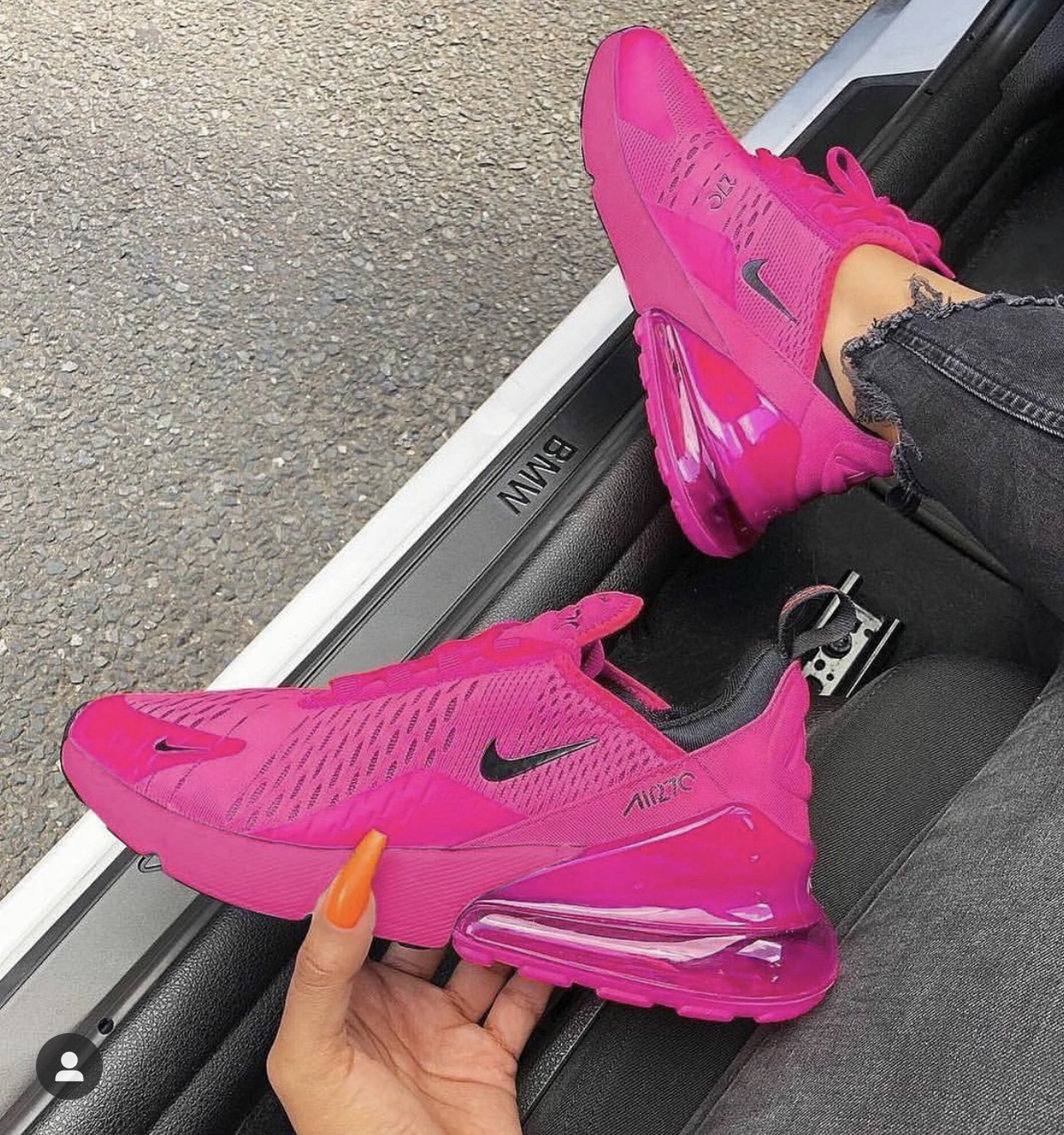 Pink Air Max 270 ( GS AND MEN SIZES )