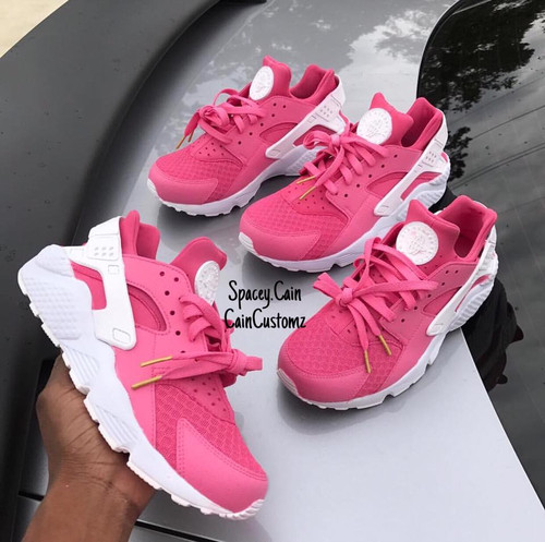 Pink Starburst Huaraches  GS AND MEN SIZES