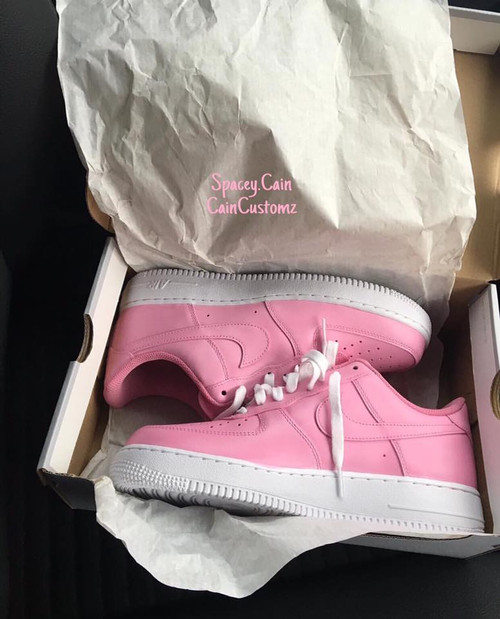 Petal Pink Airforces ( GS AND MEN SIZES )
