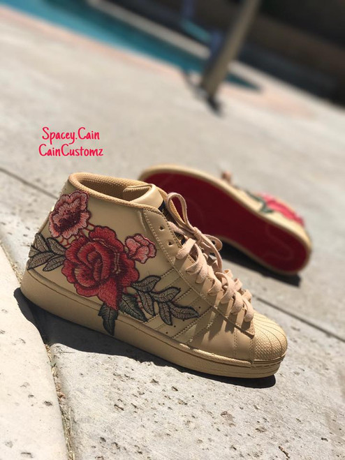 Floral Louboutin Adidas -GS-