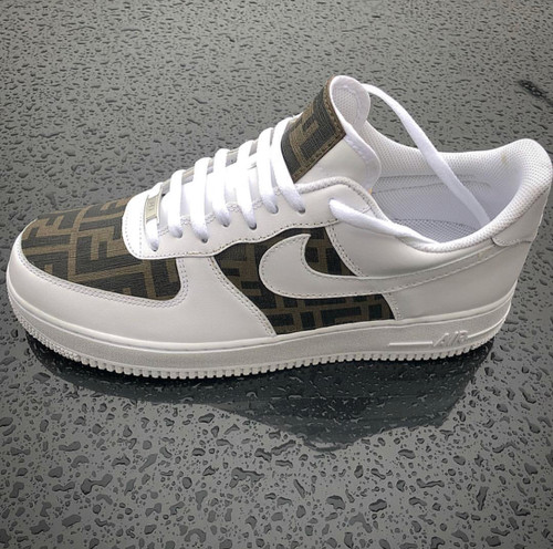 Authentic Leather  Airforces Men