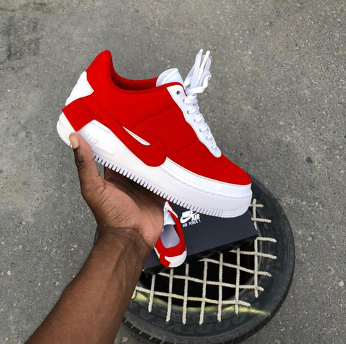 Splurging Red Airforces