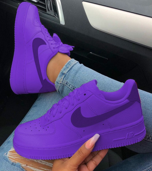 Matte Purple Haze Airforces ( GS & Men )