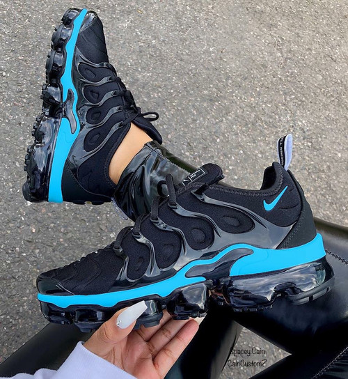 Black Ocean VaporMax Plus (Boys&Men Sizes )