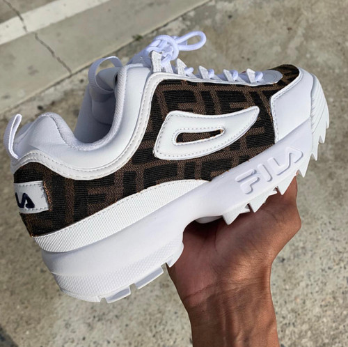 Double F Fila Disruptors ( only 10 pair made )