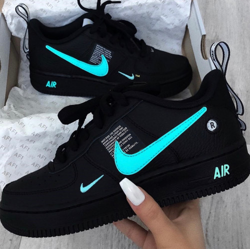 Black Wave Utility Airforces ( GS SIZES AND MEN SIZES )