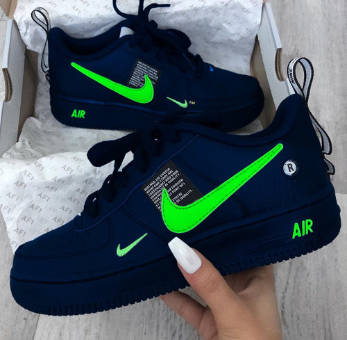 Navy Blue Electric Utility Airforces