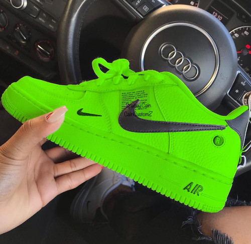Slimey Utility AirForces ( GS And Men Sizes )