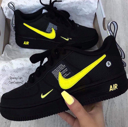 Bodak Yellow Airforce one Utility ( GS AND MEN SIZES )